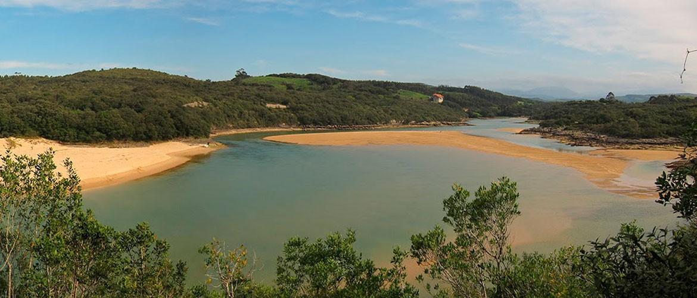 Panorama Ría de Ajo Castellanos