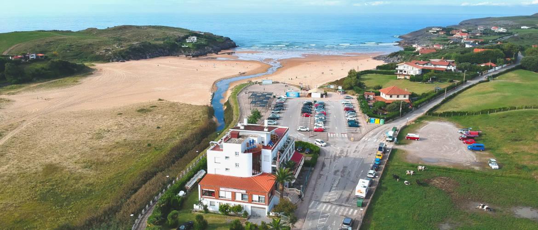 Aerial Picture Hotel Costa de Ajo - Ajo Beach - Cantabria